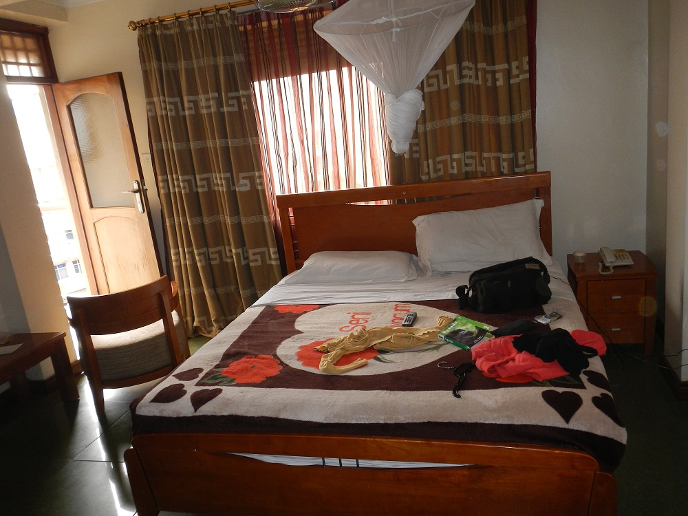 Pacific Hotel in Kampala.