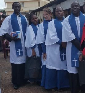 church teachers in robes