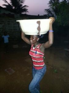 Dancing water pumper.