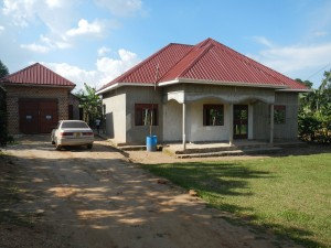 The house I'm staying in in Kalisizo, Uganda.