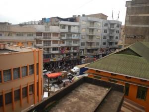 Kampala Pacific Hotel balcony