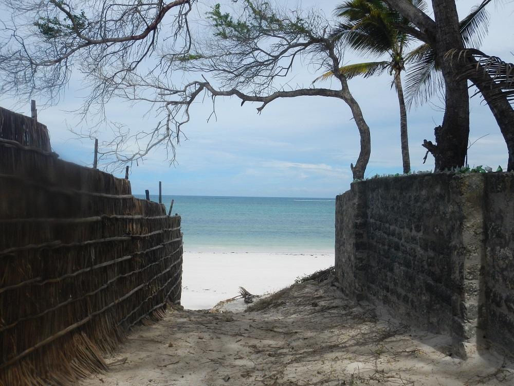 Walking on to Bofa Beach